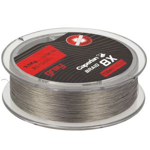 Lines Caperlan BRAID 8X GREY 130 M 18/100