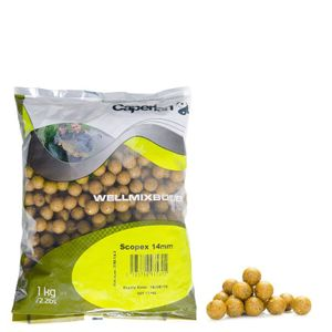 Baits & Additives Caperlan BOUILLETTES WELLMIX SCOP 14 MM