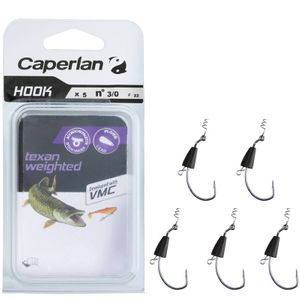 Hooks Caperlan HOOK TEXAN WEIGHTED 3/0