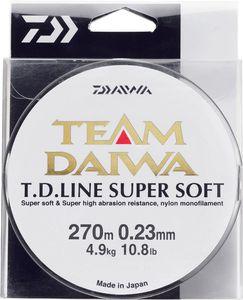 Lines Daiwa TEAM DAIWA LINE SUPER SOFT 18/100 VERT MOUSSE 135 M
