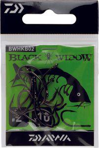 Hooks Daiwa HAMEÇON BLACK WIDOW CARPE TYPEB N° 6 BWHKB06