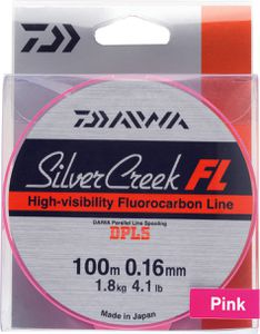 Leaders Daiwa SILVERCREEK FL 20/100 100 M ROSE