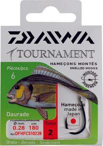 Hooks Daiwa HAMEÇONS MONTÉS DAURADE FC 51 N° 2 DFHFC510230
