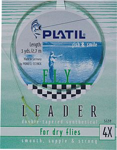 Leaders Daiwa PLATIL FLY LEADER 0,14 / 0,38 2,50 M