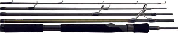 Rods Daiwa TEAM DAIWA TRAVEL LEURRE EAU DOUCE MULTIBRIN TD805HFSBF