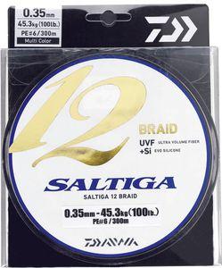 Lines Daiwa SALTIGA 12 BRAID 33/100 600 M MULTICOLORE