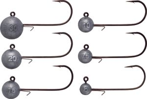 Hooks Daiwa TOURNAMENT D'JIG HEAD SS ROUND 5 G 16524405
