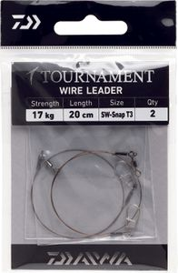 Leaders Daiwa TOURNAMENT WIRE LEADER 13,6 KG 20 CM