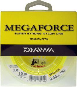 Lines Daiwa MEGAFORCE 25/100 JAUNE 200 M