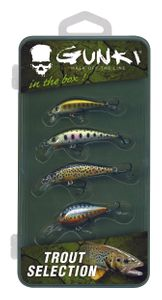 Lures Gunki BOX-TROUT SELECTION