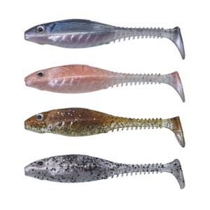 VMAX GRUBBY SHAD 13CM 6 CLEAR WATER KIT