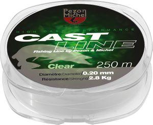 Lines Pezon & Michel CAST LINE CLEAR 0,23