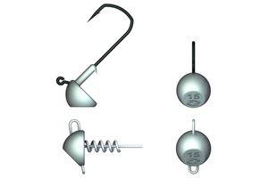 Hooks Illex DEXTER TIP UP HEAD 7G - SCREW