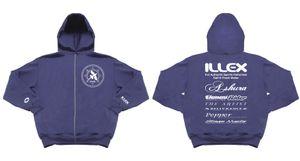 SWEAT CAPUCHE ILLEX TEAM BLUE T.L