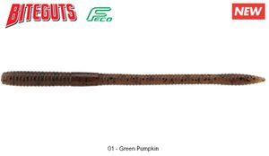 """Lures Noike SMILE WORM MAMY 5.3"""" 01 - GREEN PUMPKIN"""