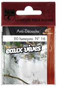 Hooks Pezon & Michel HAM.N.MTES EAUX VIVES ANTI DECROCHE 8