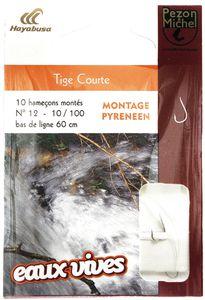 Hooks Pezon & Michel HAM. MONTE EAUX VIVES TIGE COURTE 12/12