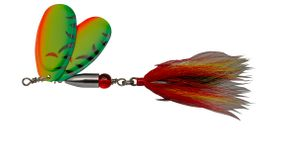 Lures Pezon & Michel BUCK PIKE TWIN N°5 FIRE TIGER
