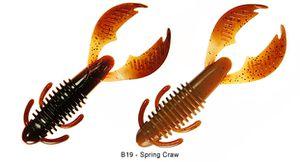 "Lures Reins AX CRAW MAXI 4"" B19 - SPRING CRAW"