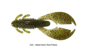 "Lures Reins AX CRAW 3"" 025 - WATERMELON RED FLAKE"
