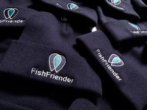 Apparel FishFriender BONNET BLEU