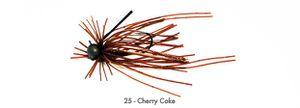 Lures Tiemco PDL MINI RUBBER BAIT FINESSE SP 2.7 G 25 - CHERRY COKE
