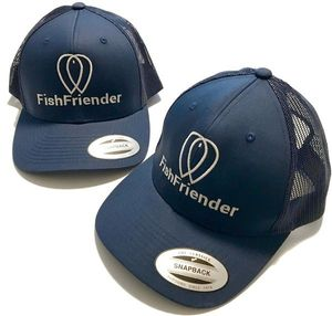 CASQUETTE TRUCKER FILET BLEUE